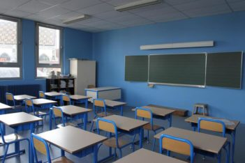 Travaux : peinture salle de classe