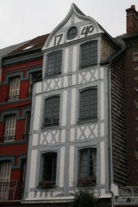 Maison à pan de bois