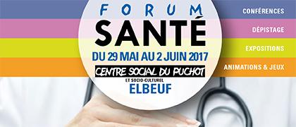 Forum santé au Centre social du Puchot