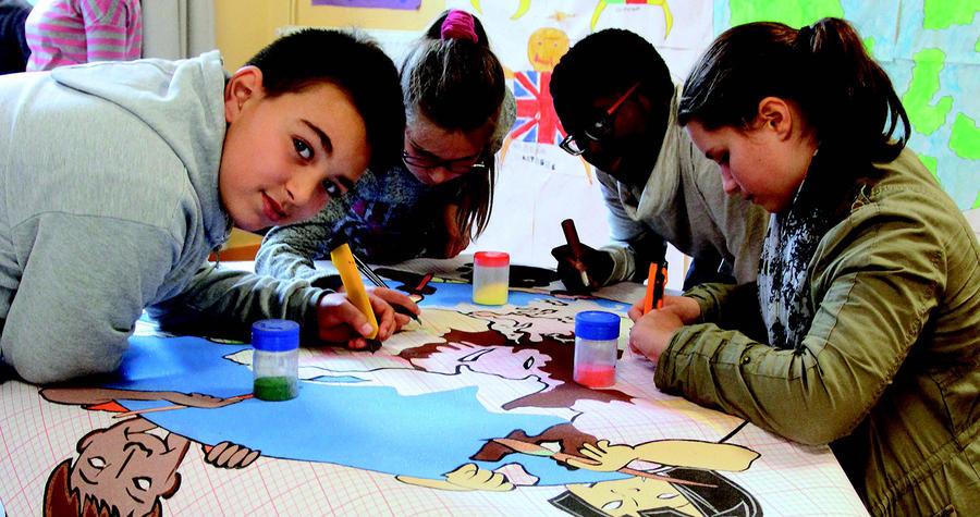 Action citoyenne autour des droits de l'enfant